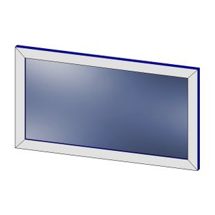 Зеркало настенное для логопедических занятий с подсветкой
