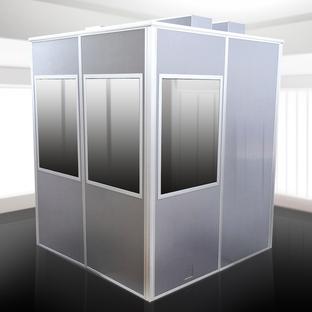 Напольная кабина для тифлокомментатора DUO