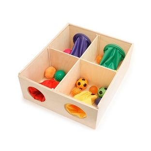 Сенсорный ящик - набор для коррекции и развития