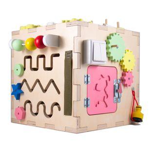 Развивающий куб Монтессори