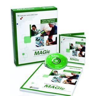 Экранный увеличитель MAGic 13.0 Pro с речевой поддержкой