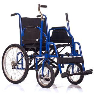Кресло-коляска для инвалидов с рычажным управлением Base 145