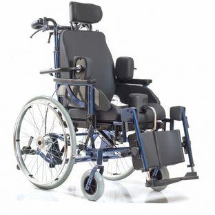 Функциональное кресло-коляска для инвалидов Delux 580