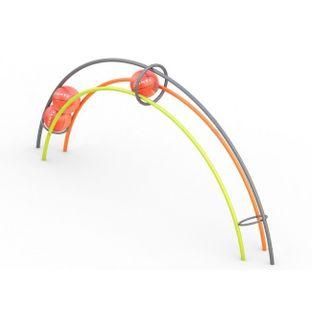 Тренажер мячи в радуге