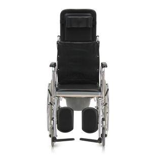 Кресло-коляска для инвалидов с санитарным оснащением FS609GC