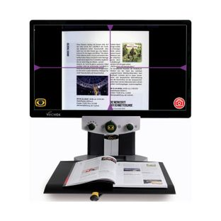 Стационарный видеоувеличитель с функцией читающей машины VEO VOX