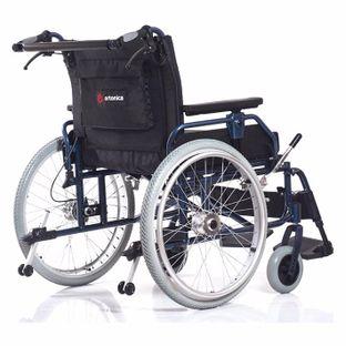 Кресло-коляска повышенной грузоподъемности для инвалидов Base 120