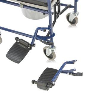 Кресло-коляска с санитарным оснащением для инвалидов H 009B