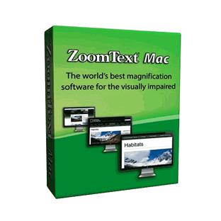 Программное обеспечение экранный увеличитель ZoomText Mac