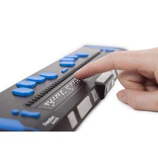 Портативный тактильный дисплей Брайля Focus 40 Blue