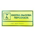 Комплексная тактильная табличка 300x400 из ПВХ