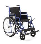 Кресло-коляска механическая стальная H 003
