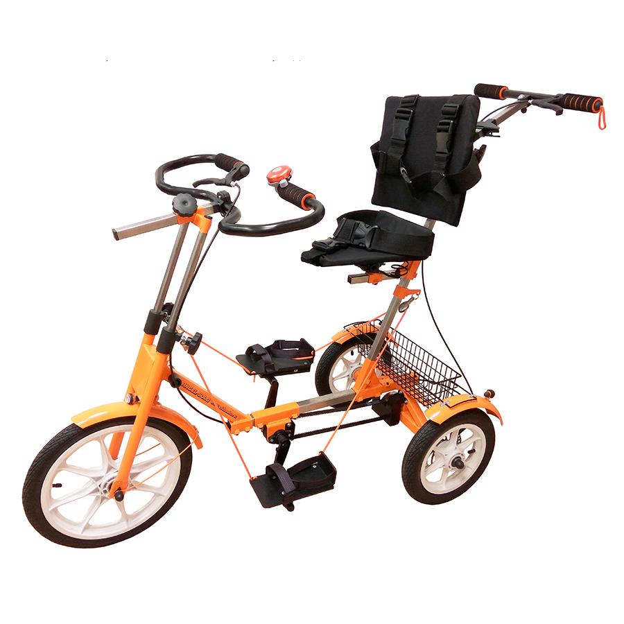 Велотренажёр-велосипед реабилитационный Ангел-Соло 3М