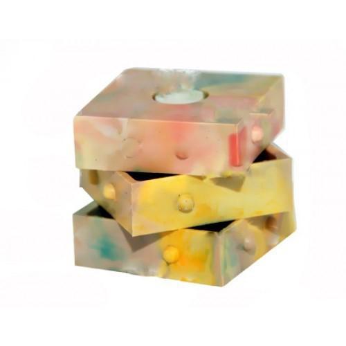Кубик-буква для обучения шрифту Брайля