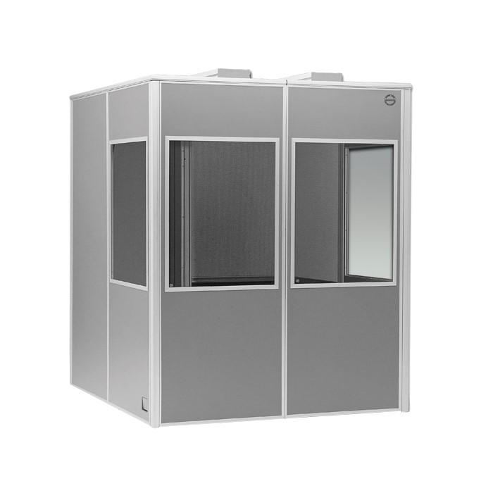 Напольная кабина для тифлокомментатора Medium