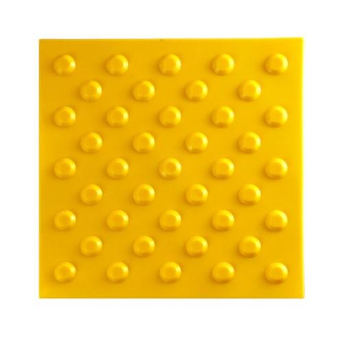 Тактильная плитка Полиуретан 300х300 - конусы