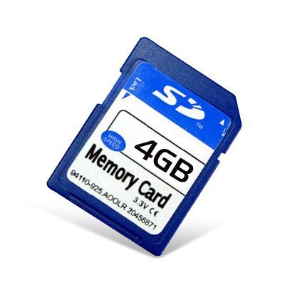 SD карта памяти 4GB