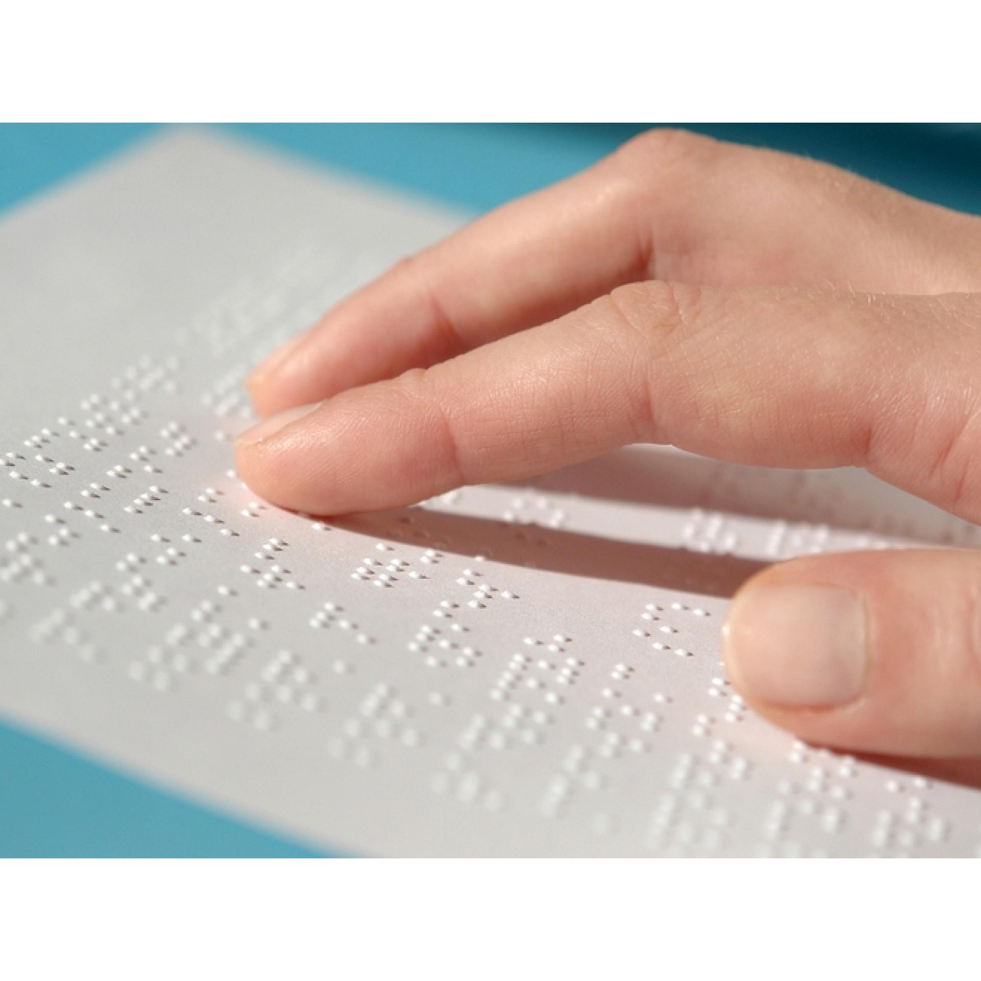 Бумага для печати рельефно-точечным шрифтом Брайля А4 (250 листов)